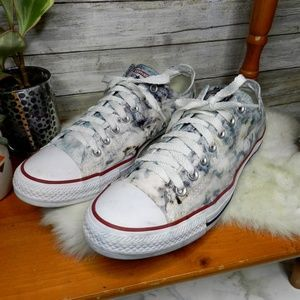 RARE Converse Marble black white all star sneakers